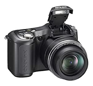 "Nikon COOLPIX L100 Digitalkamera (10 Megapixel, 15-fach optischer Zoom, 3"" Display) schwarz"