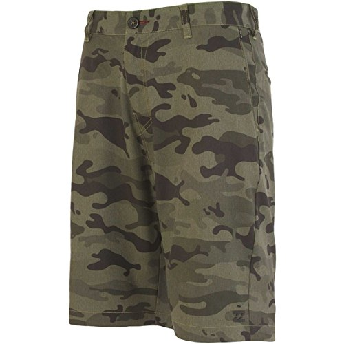 Billabong Little Boys' Kids Crossfire Px Shorts, Military Camo, 5 front-451752