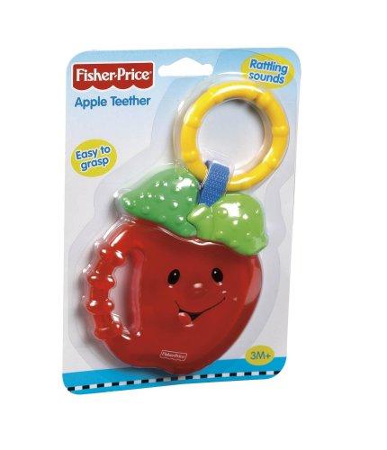 Imagen 3 de Fisher Price M4385 - Mordedor con anilla, diseño manzana