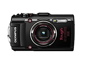 Olympus TG-4 16 MP Waterproof Digital Camera with 3-Inch LCD (Black)