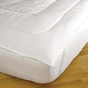 Amazon Gaiam Wool Mattress Pad Topper with 100%