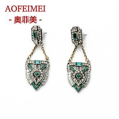 Damen Ohrring Legierung Stud Earrings-Color günstig bestellen