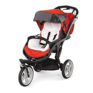 Chicco S3 All-Terrain Stroller, Fuego (Discontinued by Manufacturer) (Discontinued by Manufacturer)