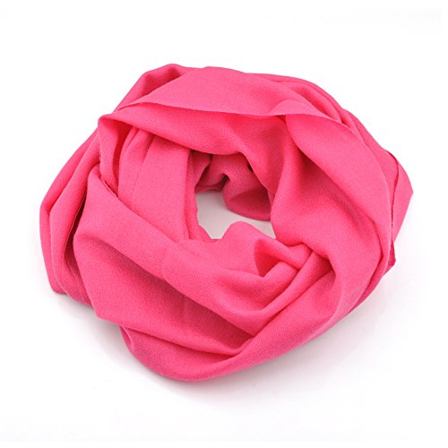 Smartodoors Cashmere scarf wrap shawls for ladies and women in pink
