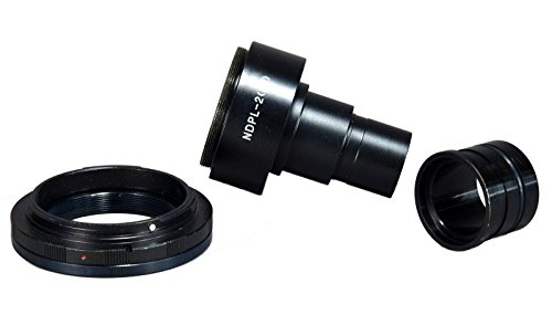 OMAX-Microscope-Adapter-4-Canon-D-SLR-w-2X-Lens-232-305mm-Adapter