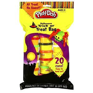 Play Doh Halloween Trick Or Treat Bag - 20 Cans