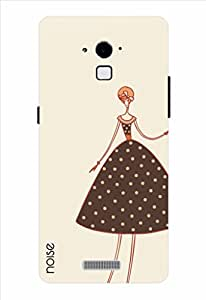 Noise Printed Back Cover / Designer Case For Coolpad Dazen Note 3 / Coolpad Note 3 Plus / Adorable Girl In Brown