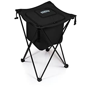 NBA San Antonio Spurs Sidekick Insulated Portable Cooler with Integrated Legs by Picnic Time