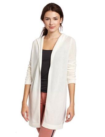 【高端羊绒】美国羊绒品牌Christopher Fischer 100% 女士纯羊绒外套开衫 Sparkler色 $49.51