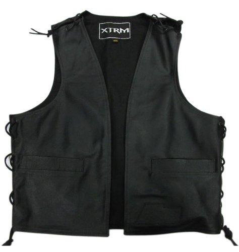 XTRM Motorbike Leather Waistcoat