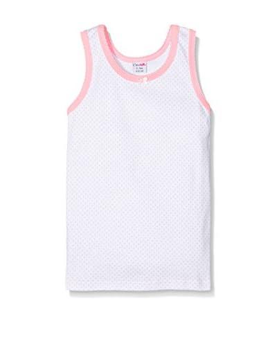 Coto&Nella Pack x 3 Camisetas Interiores Blanco / Rosa 8 años (128 cm)