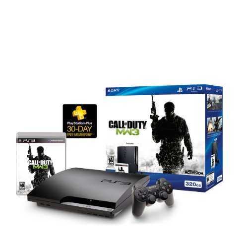 Playstation 3 320GB HW Bundle - Call of Duty: