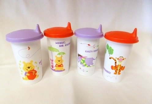 Tupperware Sippy Cups front-1077374