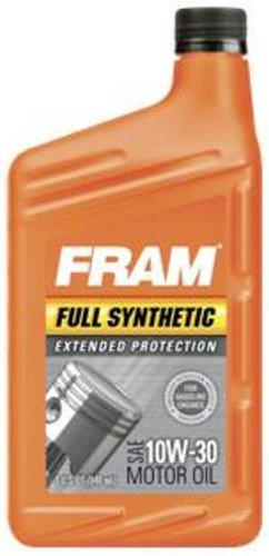 Motor Oils Fram 1057024 Full Synthetic 10w 30 Motor Oil