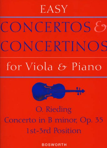 EASY CONCERTOS & CONCERTINOS FOR VIOLA & PNO CONCERTO IN  BMINOR OP 35 1-3 POSITIONS PDF
