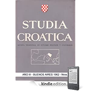 Studia Croatica - nmeros 7-8 - 1962 (Spanish Edition)