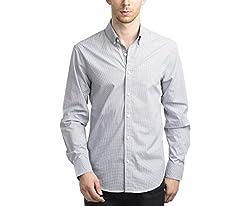 Scotchtree Men's Shirt (sco_016_Grey_X-Large)