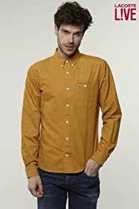 L!VE Long Sleeve Button Down Fine Wale Corduroy Shirt