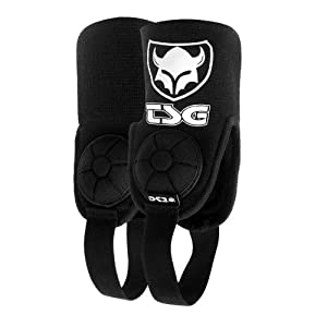 TSG Black Cam Ankle Guard