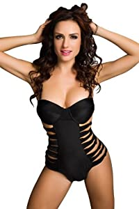 GURAIO Sexy Ladies Women Push up Padded Bikini Trikini Swimwear Swimsuit