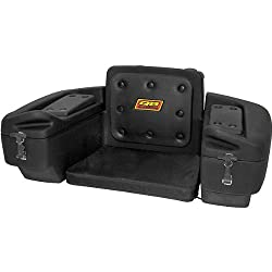 Quadboss Rear Rack Lounger Sports ATV Trunks - Black