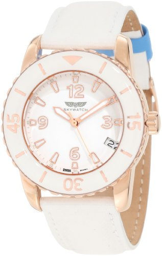 Skywatch Women's AMI005 Classic Analog Swiss-Made Watch