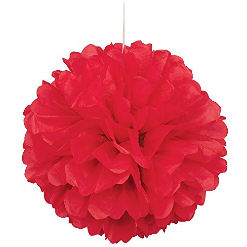 how to make large paper pom poms
