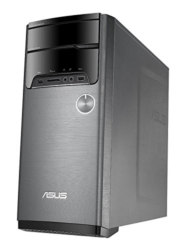 Asus M32AD Desktop with Windows 7 Professional upgradable to Windows 10 Professional, Intel Quad-Core i5-4460S 2.9GHz up to 3.4GHz, 12GB RAM, 1TB Hard Drive