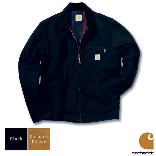Carhartt Workwear Duck Detroit Mens Jacket Carhartt Brown XX-Large