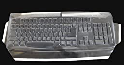 Biosafe Anti Microbial Keyboard Cover for Gyration AS04126 Keyboard, Keeps Out Dirt Dust Liquids and Contaminants - Keyboard not Included - Part# 543G86