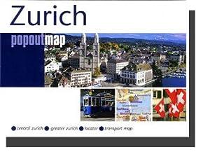 Zurich, Switzerland PopOut Map