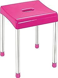Cello Iris Stool (Pink)