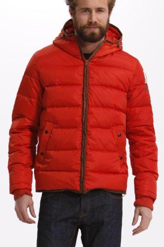 Desigual - Chaq_Zurtz, Cappotto piuma da uomo,  manica lunga, arancione(orange (naranja)), L