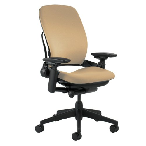 Steelcase leap chair in fabric industrial supply - Steelcase leap ergonomic office chair ...