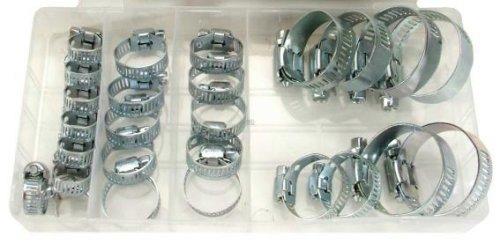 Bgs Technic Pro+ - Assortimento Di 26 Fascette Di Metallo Antiruggine