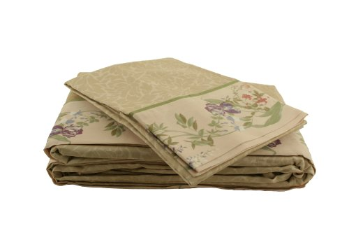 Croscill Iris Cotton 4-Piece Queen Sheet Set front-13987