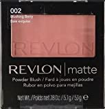 Revlon Matte Powder Blush 002 Blushing Berry