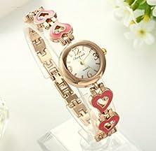 buy Sunshine Day Designer Watches Women Fashion Luxury Crystals Love Heart Bracelet Watch