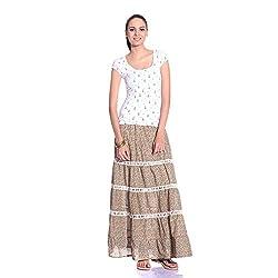 styleAVA Women's Skirt (SKRT_01_MULTI01_Multicolor_Free Size)