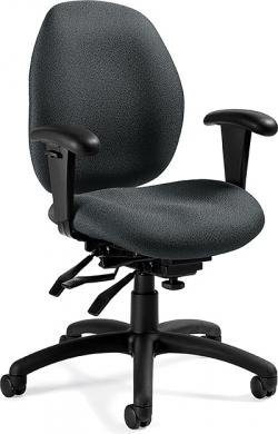 Office Chair,LO BK MULT TILT,GY oodji 20104020 1 43765 3529b