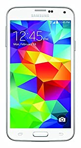 Samsung Galaxy S5 G900V 16GB Verizon / GSM Smartphone w/ 16MP Camera, White (Certified)