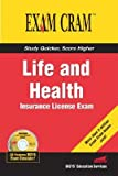 img - for Life and Health Insurance License Exam Cram   [LIFE & HEALTH INSURANCE LICENS] [Paperback] book / textbook / text book