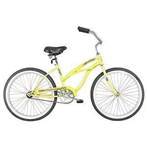 Women's Pantera 7 Speed Beach Cruiser Bike Color: Vanilla