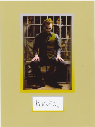 Heath Ledger 8 X 10 Photo Display Autograph on Glossy Photo Paper