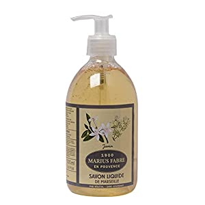 Savon de Marseille Liquid Soap Jasmine 16.9 Fl Oz Marius Fabre