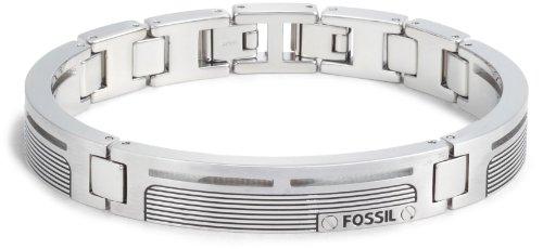 Fossil , JF84476040 , Bracelet Homme , Acier inoxydable , 18,5 + 1,5 cm