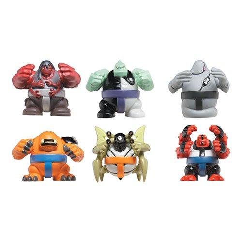 Amazon.com: Ben 10 Sumo Slammer Battle Set 2: Four Arms, Diamonhead