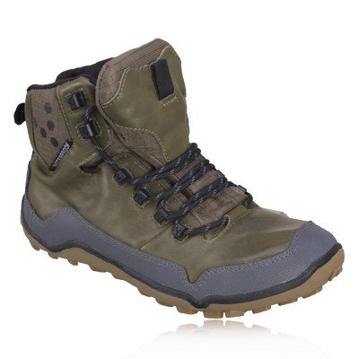 VivoBarefoot Lady Off Road Hi-Top Pull-Up Leather Walking Shoes - 8