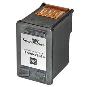 Speedy Inks - Remanufactured replacement for Hewlett Packard HP 56 / C6656AN Black Ink Cartridge