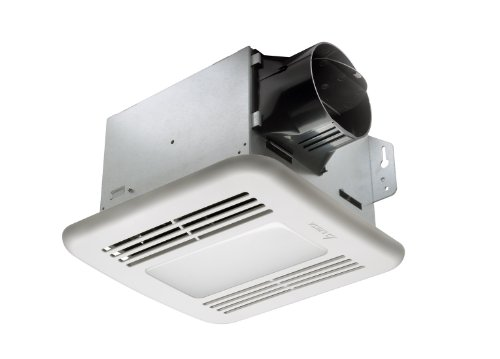 Delta Breez GBR80LED GreenBuilder 80 CFM Exhaust Fan with LED Light (Fans Exhaust compare prices)